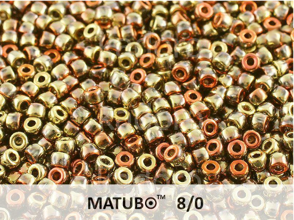 Matubo 8/0, California Golden Rush, 10 g