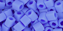 TOHO Cubes 4 mm, Opaque Frosted Periwinkle, TC-04-48LF, 10 g