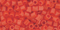 TOHO TH-08-50 Hex 8, Opaque Sunset Orange, 10 g