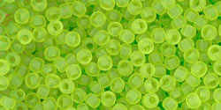 TOHO Transparent-Frosted Lime Green,  TR-11-4F, 10 g