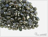 Button Bead 4 mm, Crystal Chrome Full, 30 ks