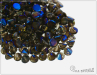 Button Bead 4 mm, Crystal Azuro Full, 30 ks