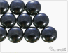 Preciosa Candy 12 mm, Hematite, 1 ks