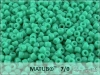 Matubo 7/0, opaque turquoise green, 10 g