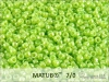 Matubo 7/0, sour apple opal white lustre, 10 g