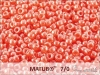 Matubo 7/0, strawberry opal white lustre, 10 g