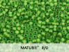 Matubo 8/0, Chrysolite Bronze Ice Lined, 10 g