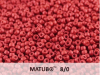 Matubo 8/0, Lava Red, 10 g