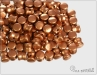 Preciosa Pellet, Silky Metallic Copper, 60 ks