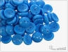 Piggy beads, opaque cornflower, 8x4 mm, 30 ks