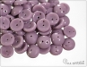 Piggy beads, opaque light violet, 8x4 mm, 30 ks