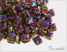 Silky Star Beads Crystal Sliperit EXTRA, 6x6 mm, 30 ks