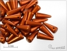 Trn AMC Silky Metallic Rust, 13x5 mm, 1 ks