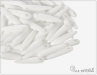 Preciosa THORN, White, 16x5 mm, 12 ks